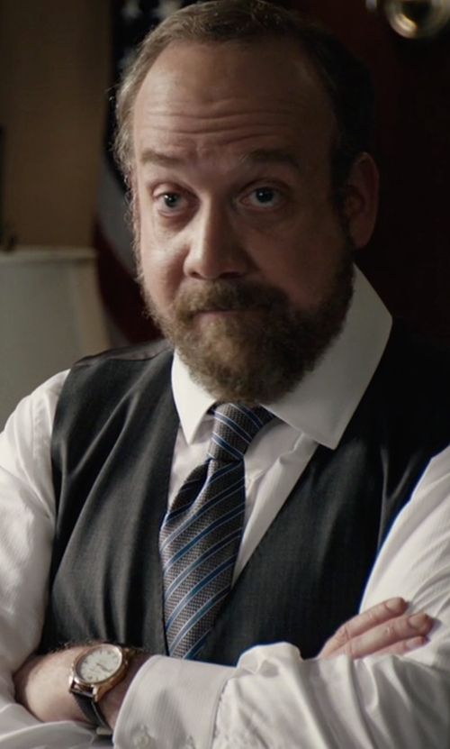 Paul Giamatti with Tommy Hilfiger Classic Multifunction Men's Watch in Billions