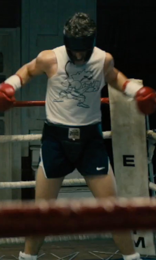 Miles Teller with Ringside Competition Boxing Headgear in Bleed for This