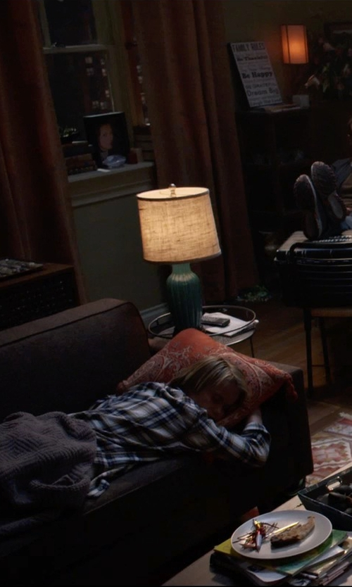 Tate Berney with Ralph Lauren Blake Plaid Shirt in Insidious: Chapter 3
