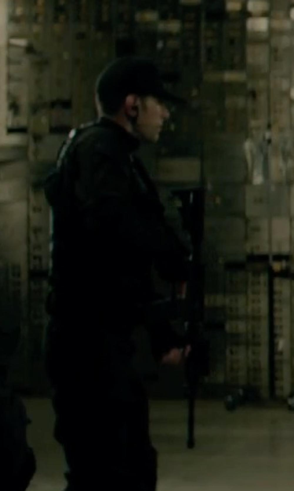 Unknown Actor with Rothco Gov't Spec 2 Ply Poly/Cotton Army Ranger Fatigue Cap in Captain America: The Winter Soldier
