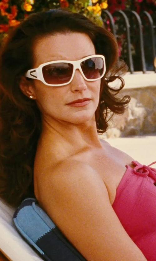 Cynthia Nixon with Vir Jewels Diamond Stud Earrings in Sex and the City