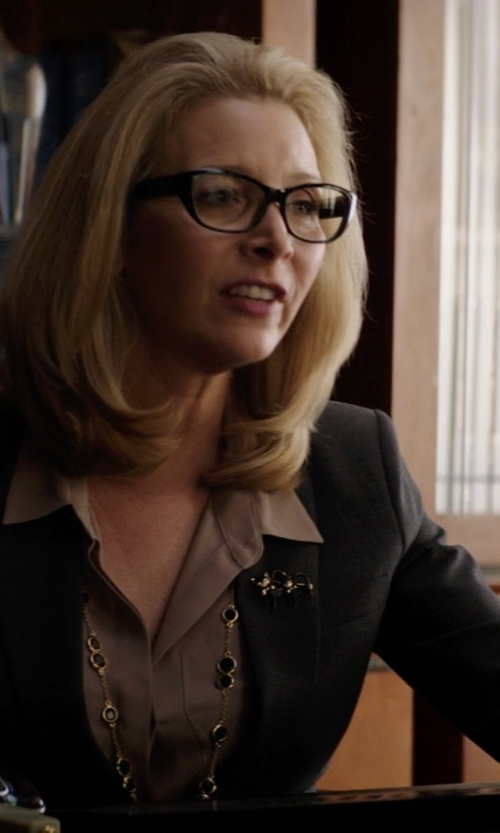 Lisa Kudrow with Elie Tahari Darcy Blazer in Neighbors
