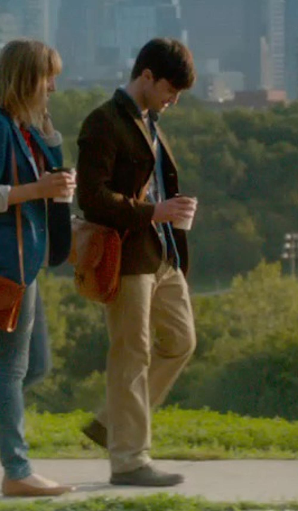 Daniel Radcliffe with O'Neill Surf Turkey Suede in What If