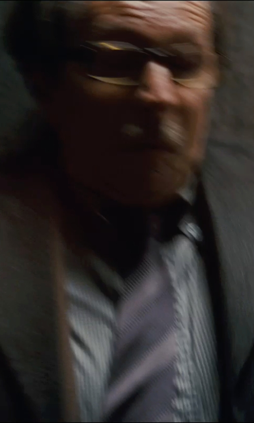 Gary Oldman with Kenneth Cole Reaction Men's Sandford Stripe Tie in The Dark Knight Rises
