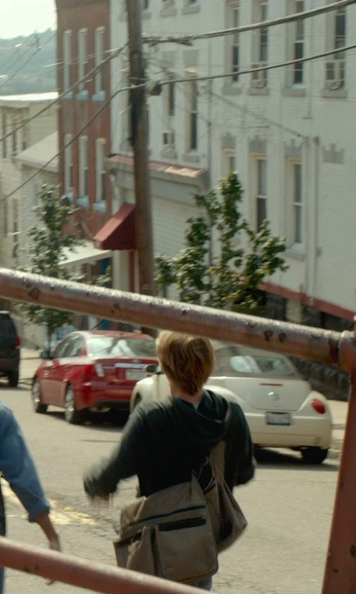 Thomas Mann with A. Kurtz 'Locust' Canvas Messenger Bag in Me and Earl and the Dying Girl