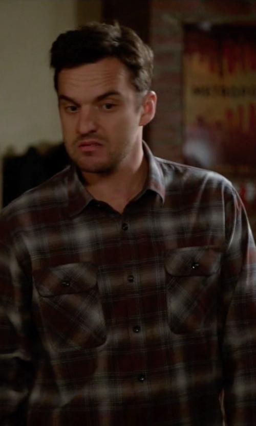 Jake Johnson with PrAna Ryken Flannel Shirt in New Girl