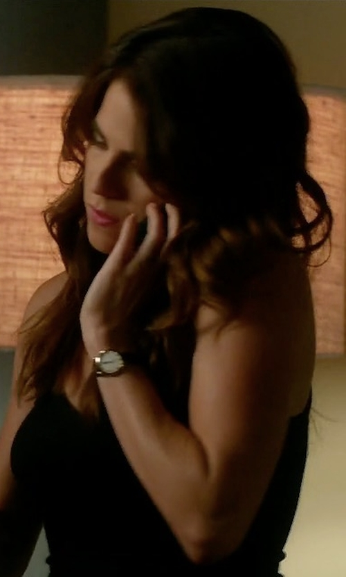 Karla Souza with Daniel Wellington Sheffield Watch in How To Get Away With Murder