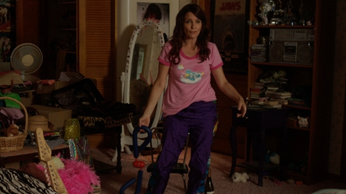 Tina Fey with Zumba Fitness Women's Craveworthy Cargo Pant in Sisters