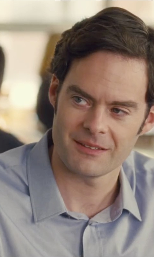 Bill Hader with Brooks Brothers Non-Iron Regent Fit Tab Collar Dress Shirt in Trainwreck
