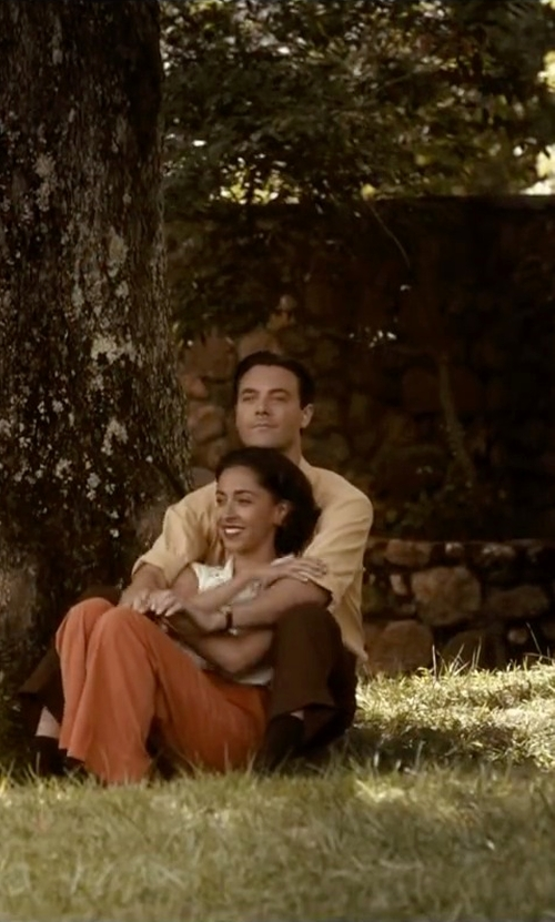 Jack Huston with Class Roberto Cavalli Short Sleeve Shirt in The Longest Ride