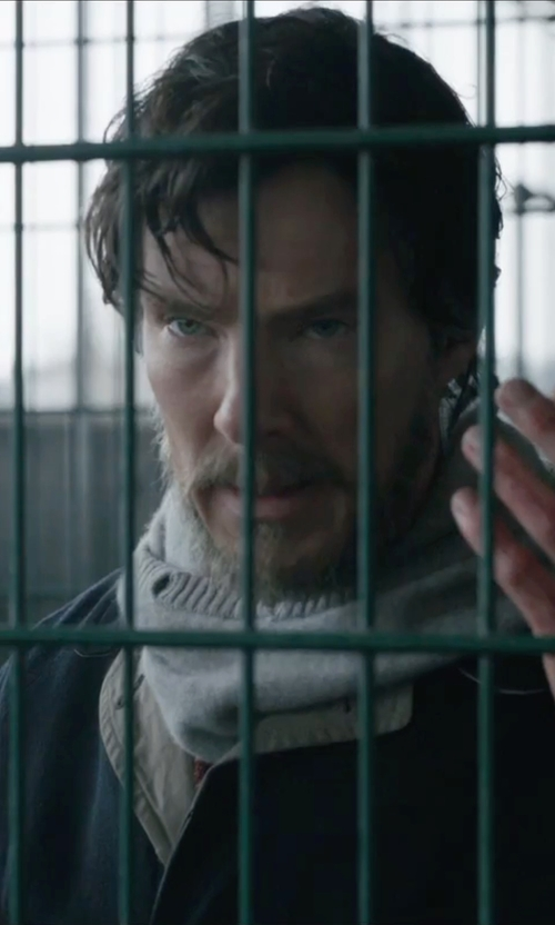 Benedict Cumberbatch with Joseph Lock Turtleneck Sweater in Doctor Strange