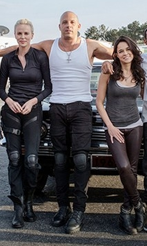 Vin Diesel with Native Youth Surge Cargo Pants in The Fate of the Furious