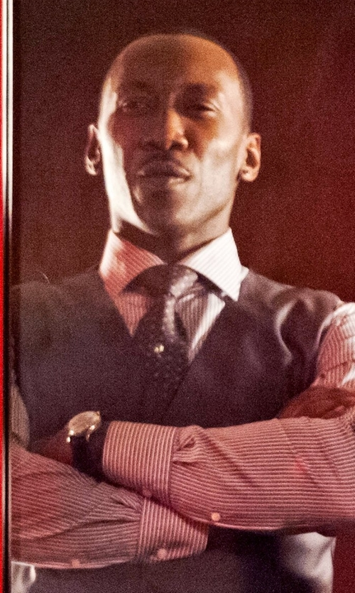 Mahershala Ali with Charvet Large Pattern Silk Tie in Marvel's Luke Cage