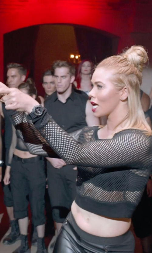 Birgitte Hjort Sørensen with Baby-G Ana-Digi Rubber Strap Watch in Pitch Perfect 2