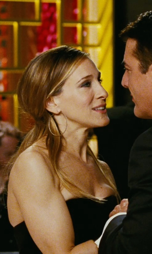 Sarah Jessica Parker with Sonia Rykiel Strapless Sweetheart Neck Jumpsuit in Sex and the City