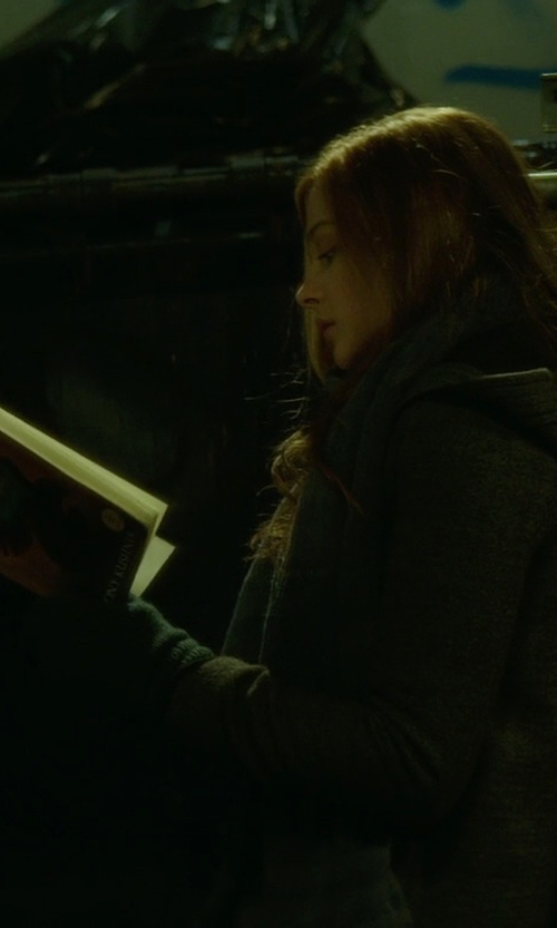 Chloë Grace Moretz with Ralph Lauren Cashmere Touch Gloves in If I Stay