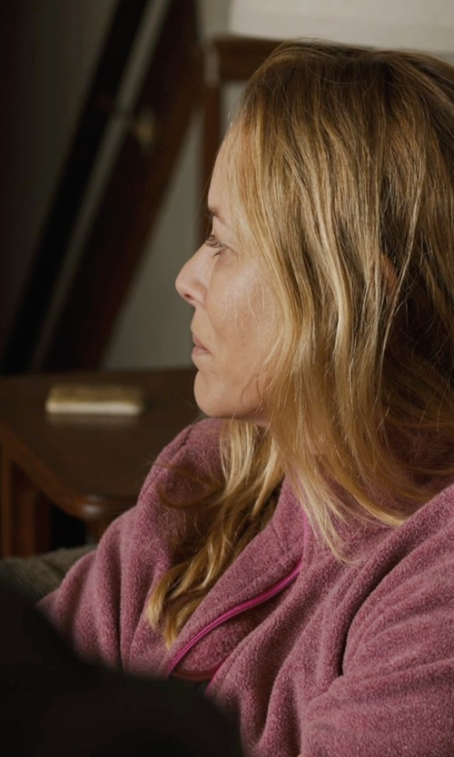 Maria Bello with Calvin Klein Performance Polar Fleece Jacket in Prisoners