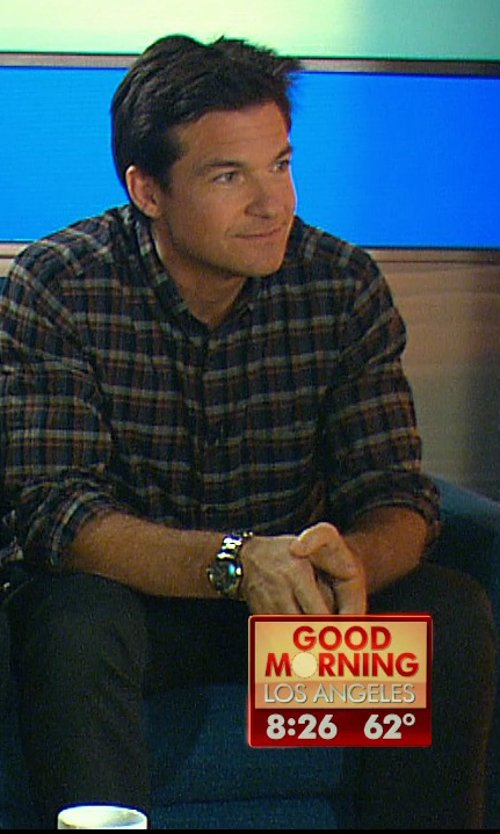 Jason Bateman with Rolex Stainless Steel Jubilee Bracelet Mens Watch in Horrible Bosses 2