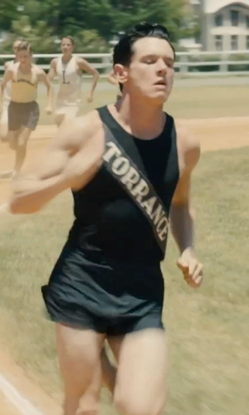 "Jack O'Connell with Nike Fundamental 2"" Split Short in Unbroken"