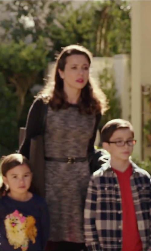 Linda Cardellini with Rebecca Minkoff Piper Tote Bag in Daddy's Home