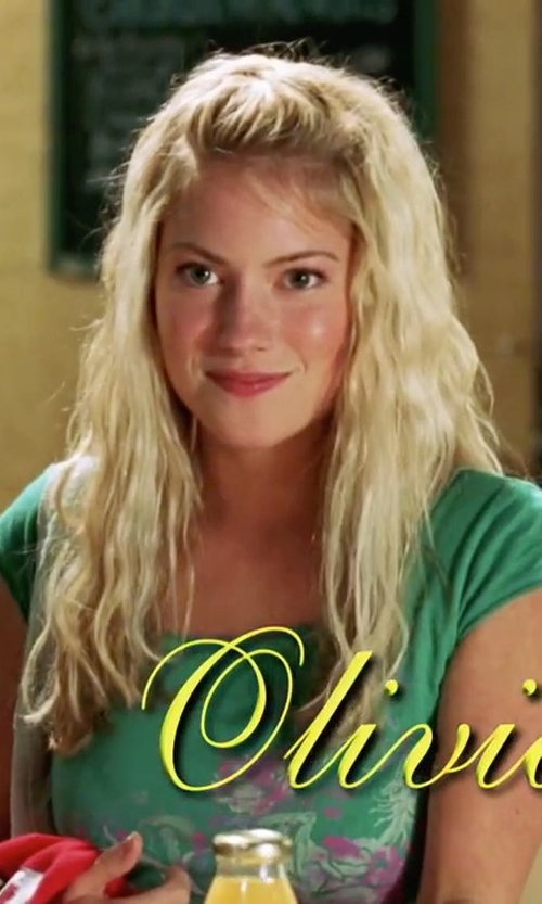 Laura Ramsey with Roper  Cotton Poly Slub Jersey Tee in She's The Man
