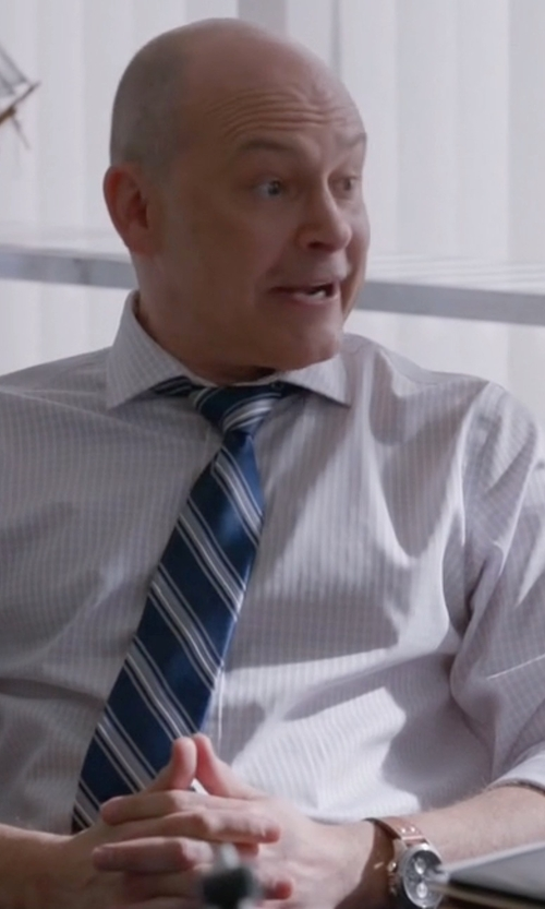 Rob Corddry with Hamilton Swiss Automatic Chronograph Watch in Ballers