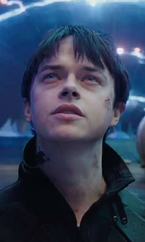Dane DeHaan with Rag & Bone Agnes Shirt Jacket in Valerian and the City of a Thousand Planets