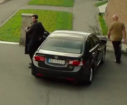 Unknown Actor with Honda Civic Sedan in The November Man