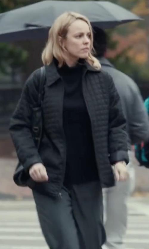 Rachel McAdams with Sag Harbor Pull-On Dress Pants in Spotlight