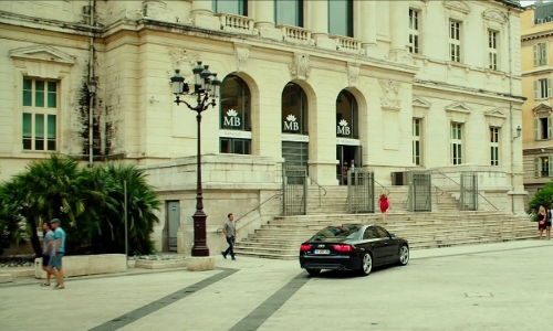 Ed Skrein with Palais de Justice Nice, France in The Transporter: Refueled