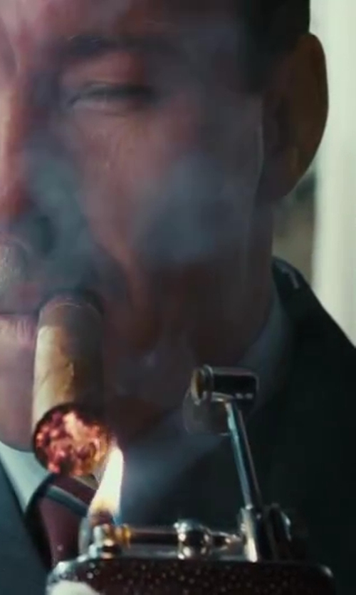 Joel Edgerton with Dunhill Lighter in The Great Gatsby