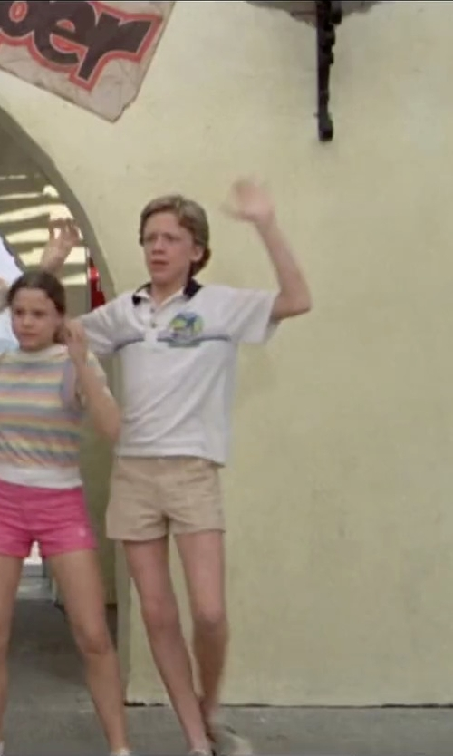 Anthony Michael Hall with Vince Casual Shorts in Vacation