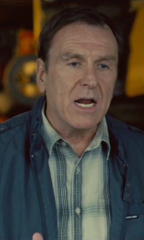 Colin Quinn with Members Only Iconic Racer Jacket in Trainwreck