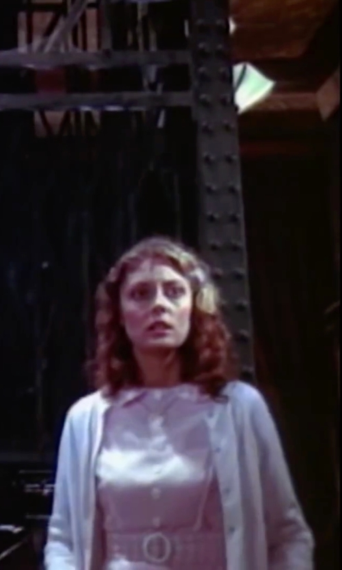 Susan Sarandon with Henry Cotton's Button Cardigan in The Rocky Horror Picture Show