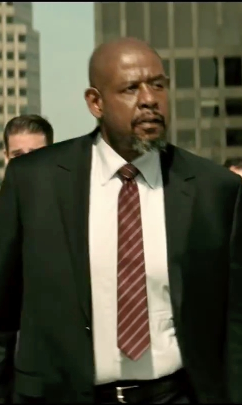 Forest Whitaker with Ralph Lauren Douglas Calfskin Buckle Belt in Taken 3