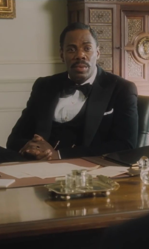 Colman Domingo with Hackett Silk Bow Tie in Lee Daniels' The Butler