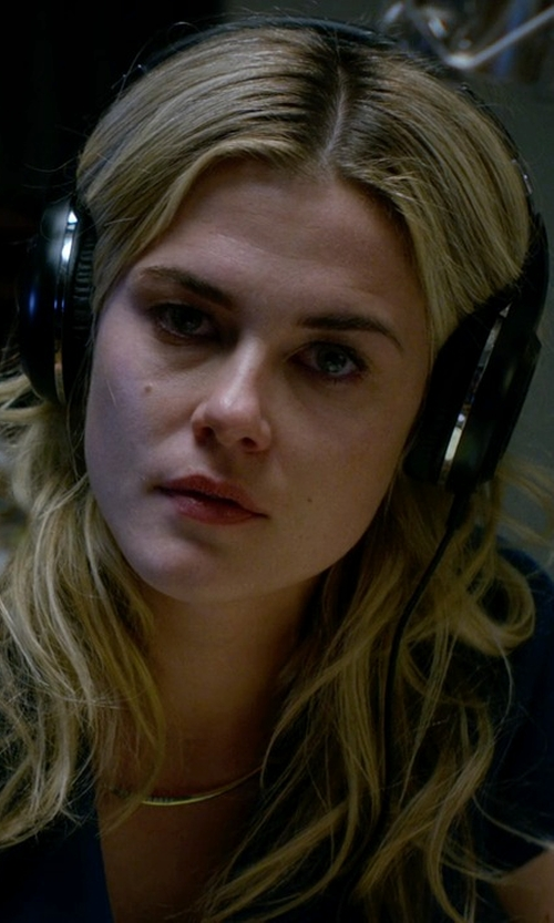 Rachael Taylor with Philips Over Ear Headphones in Jessica Jones