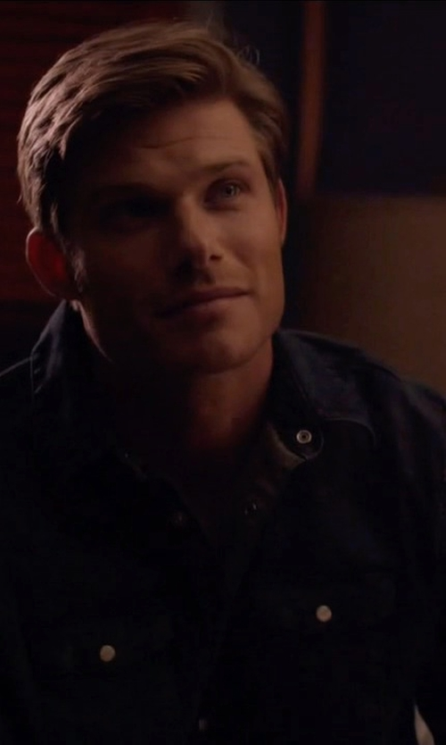 Chris Carmack with Paige Hunter Denim Shirt in Nashville