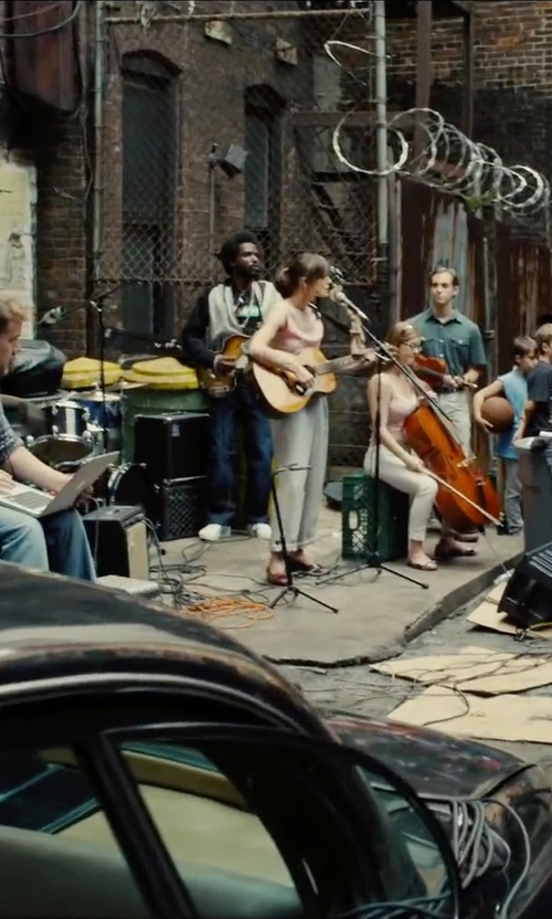 Unknown Actor with Hurley All City Biker Jacket in Begin Again