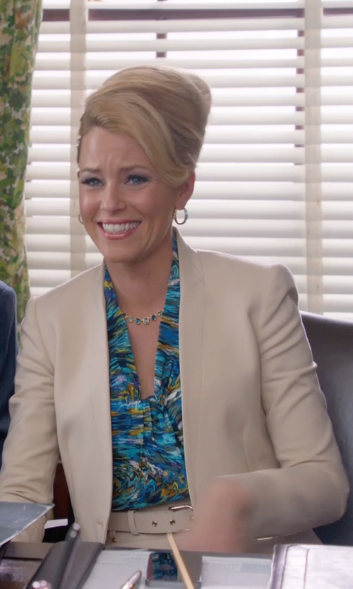 Elizabeth Banks with Mauro Grifoni Buckle Belt in Pitch Perfect 2