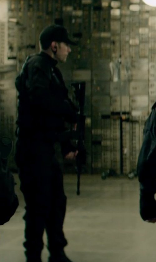 Unknown Actor with Rothco Deluxe Black EMT Pants in Captain America: The Winter Soldier