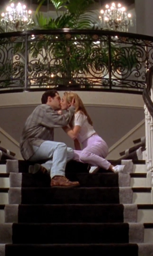 Alicia Silverstone with Geox Low-Top Sneakers in Clueless