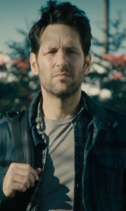 Paul Rudd with Diesel J-Enzo Jacket / SS 15 in Ant-Man
