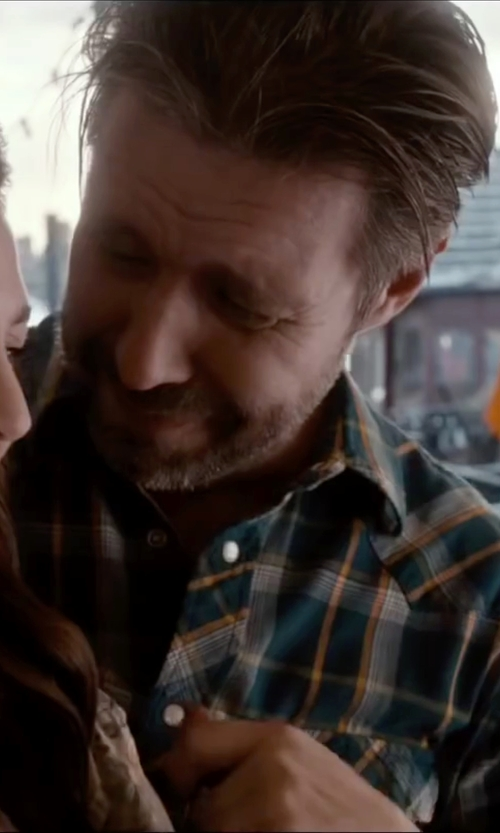 Paddy Considine with Weatherproof Vintage Men's Poplin Plaids in Miss You Already