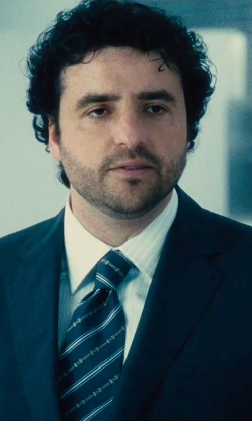 David Krumholtz with Dsquared2 Dress Shirt in The Judge