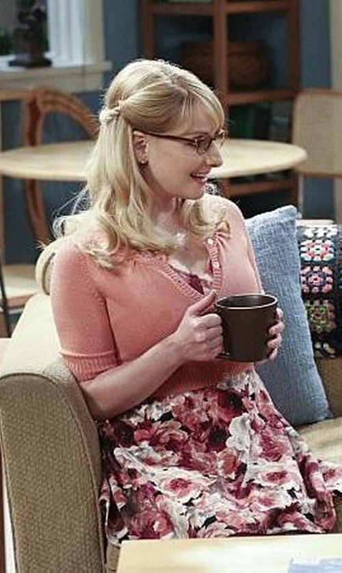 Melissa Rauch with ModCloth The Dream of the Crop Cardigan in The Big Bang Theory