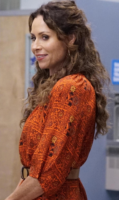 Minnie Driver with Balenciaga Stud Belt in Speechless