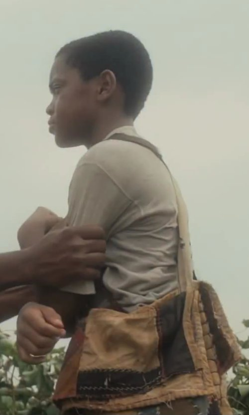 Michael Rainey Jr. with eCanvas Boys Messenger Bag in Lee Daniels' The Butler