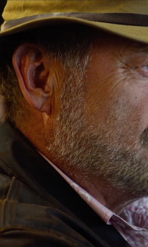 Kelsey Grammer with Levi's Vintage Clothing Cognac Sheepskin Leather '1940's' Jacket in The Expendables 3