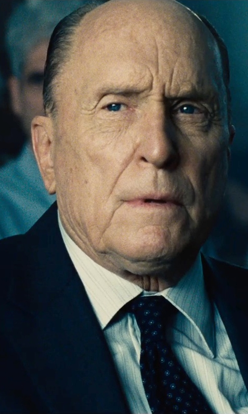 Robert Duvall with Emporio Armani Classic Suit in The Judge